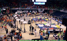 Robotics Competition 2011 at Auburn University - Woodham Middle School